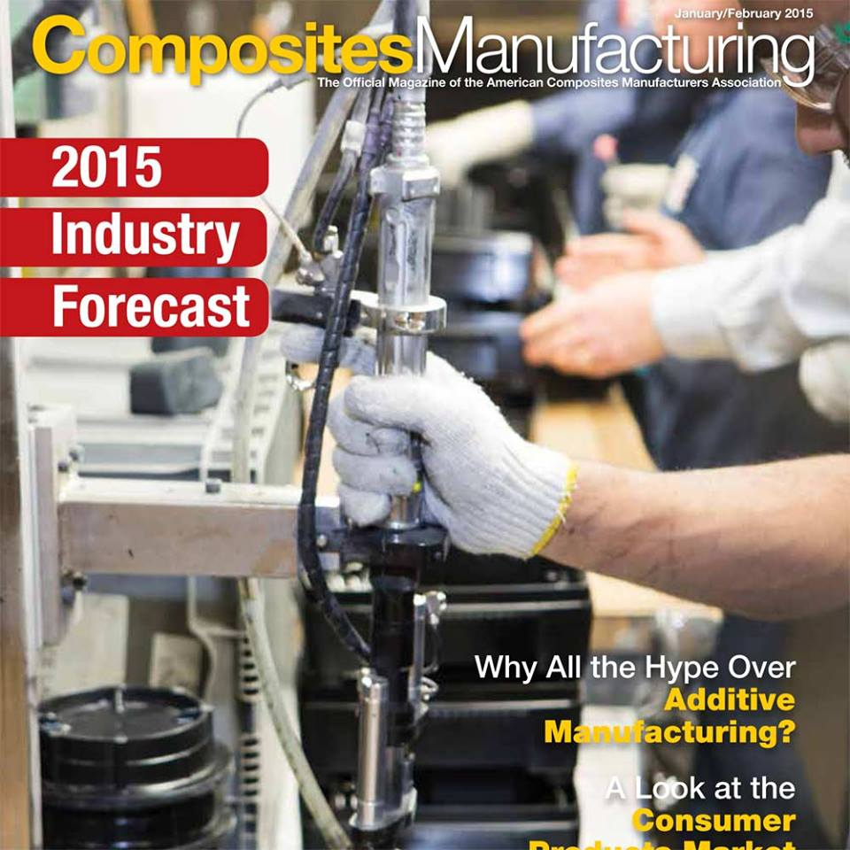Composites Manufacturing Magazine Cover
