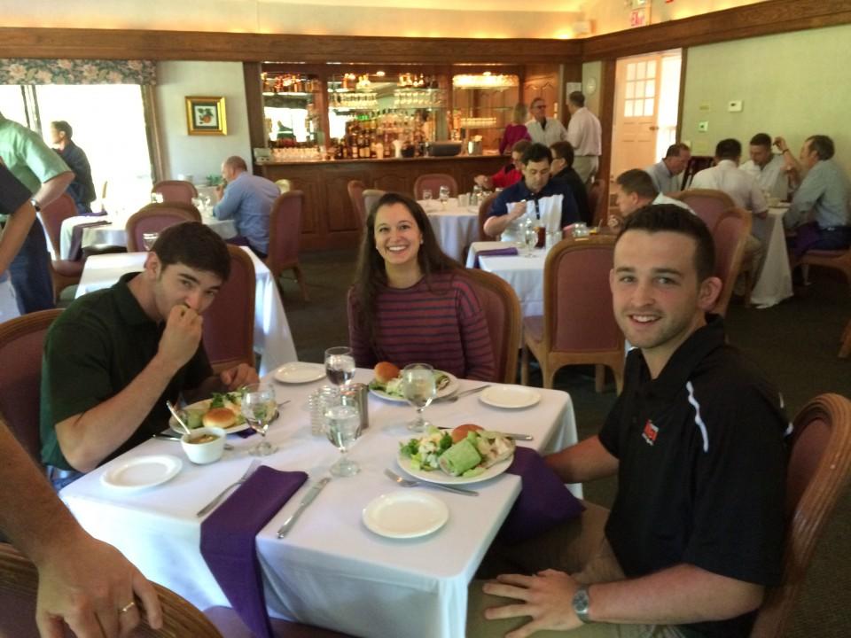 Interns 2015 Lunch