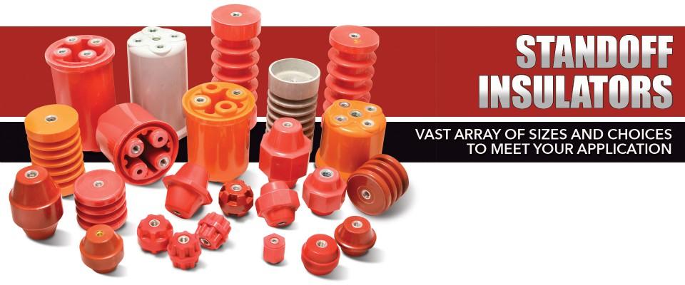 Standoff Insulators: Glastic & Mar-Bar BMC Molded Insulators