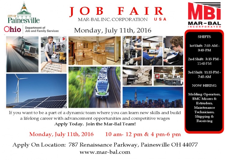 OHIO Plant Job Fair July 2016